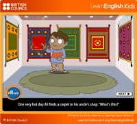 English Animated Story & Activities
